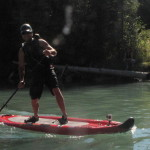 Beaver River BC stand up paddle boarding