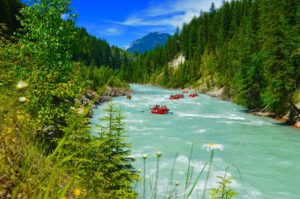 rafting in golden bc